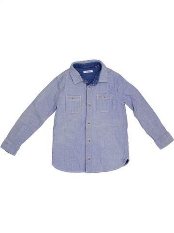 Camisa de manga larga niño OKAIDI azul 6 años invierno #1308220_1