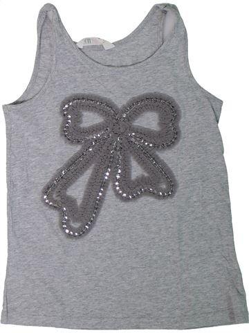 Camiseta sin mangas niña H&M gris 12 años verano #1308264_1