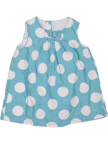 Vestido niña H&M azul 9 meses invierno #1308364_1