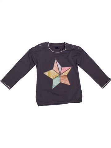 Camiseta de manga larga niña KIABI gris 3 años invierno #1308459_1