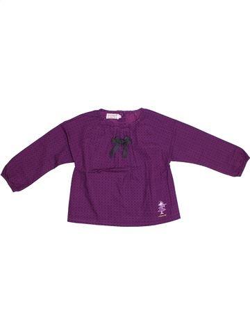 Blusa de manga larga niña LA COMPAGNIE DES PETITS violeta 3 años invierno #1308475_1