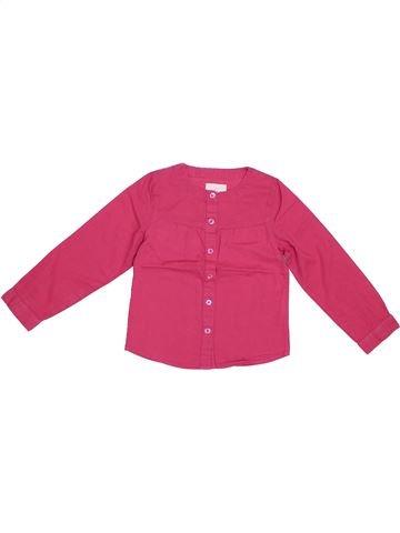 Blusa de manga larga niña LISA ROSE rosa 3 años invierno #1308492_1