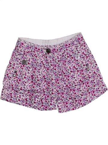 Short-Bermudas niña OKAIDI violeta 3 años verano #1308558_1