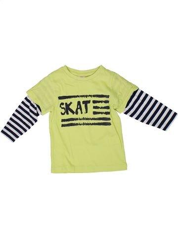 Camiseta de manga larga niño TAPE À L'OEIL verde 2 años invierno #1308641_1