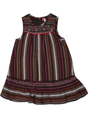Robe fille ORCHESTRA marron 2 ans été #1308719_1