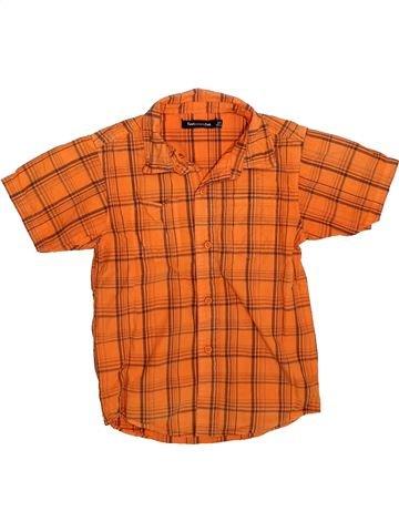 Chemise manches courtes garçon TOUT COMPTE FAIT orange 8 ans été #1308850_1