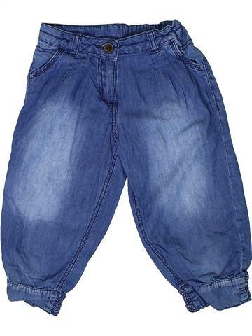 Pantalón corto niña GEORGE azul 7 años verano #1308907_1