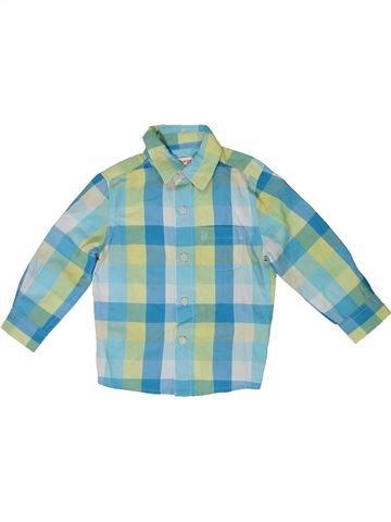 Camisa de manga larga niño BLUEZOO verde 2 años invierno #1308951_1