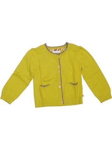 Chaleco niña OKAIDI amarillo 2 años invierno #1309058_1