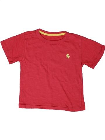 Camiseta de manga corta niño DUNNES STORES rosa 2 años verano #1309328_1
