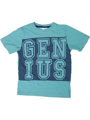 T-shirt manches courtes garçon M&CO bleu 8 ans été #1309600_1