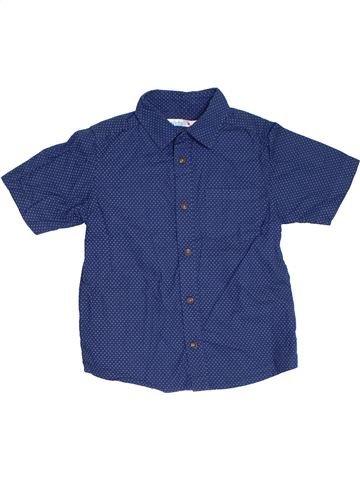 Camisa de manga corta niño M&CO azul 7 años verano #1309794_1