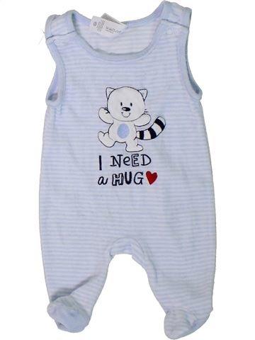 Pijama de 1 pieza niño C&A azul 1 mes invierno #1309899_1