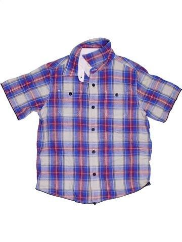 Chemise manches courtes garçon FAT FACE bleu 9 ans été #1309900_1