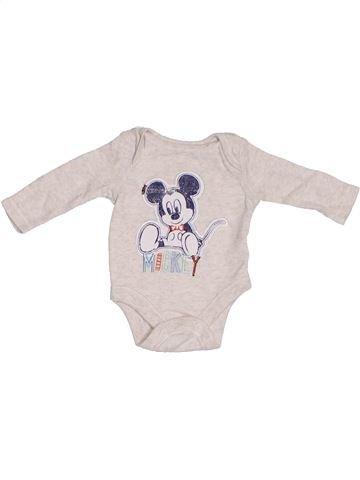 Camiseta de manga larga niño GEORGE blanco 1 mes invierno #1310173_1