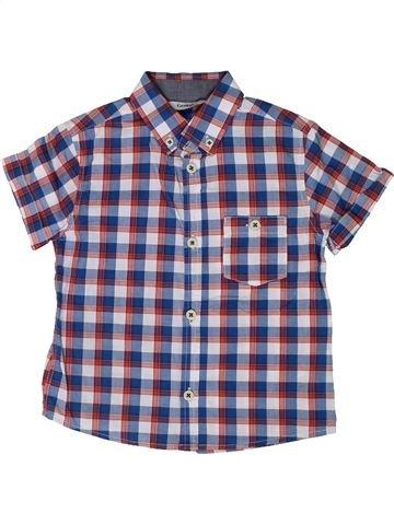 Camisa de manga corta niño GEORGE violeta 4 años verano #1310175_1