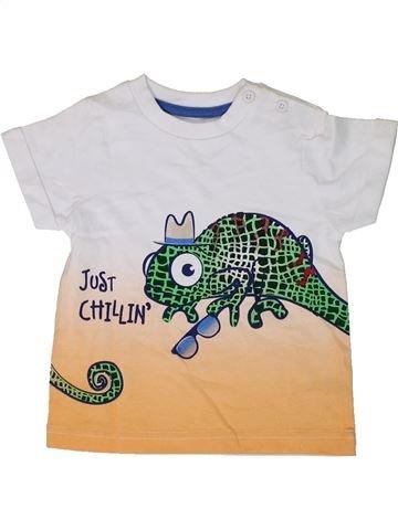Camiseta de manga corta niño M&CO azul 9 meses verano #1310286_1