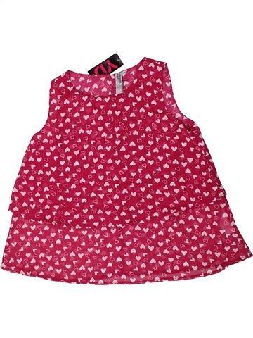 Blusa de manga corta niña PRIMARK rosa 10 años verano #1310396_1