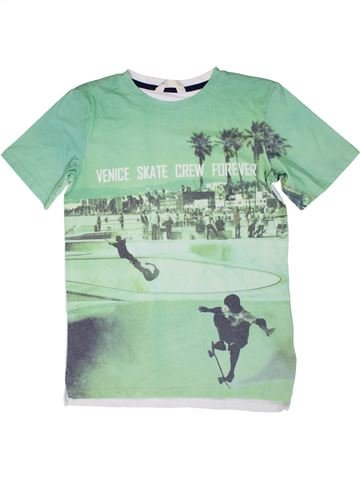 Camiseta de manga corta niño H&M verde 14 años verano #1310407_1