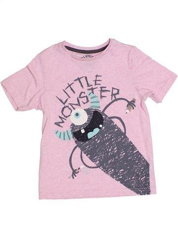 Camiseta de manga corta niño TU rosa 4 años verano #1310479_1