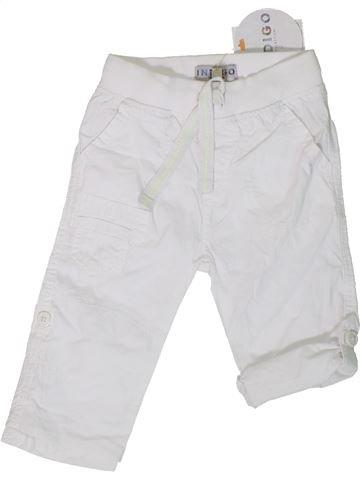 Pantalón niña MARKS & SPENCER blanco 18 meses verano #1310501_1