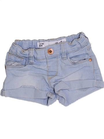 Short-Bermudas niña PRIMARK azul 3 años verano #1310542_1