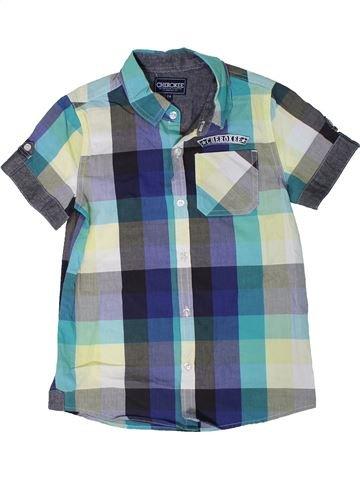 Camisa de manga corta niño CHEROKEE azul 8 años verano #1310717_1