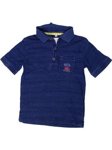 Polo de manga corta niño JOHN ROCHA azul 4 años verano #1310775_1