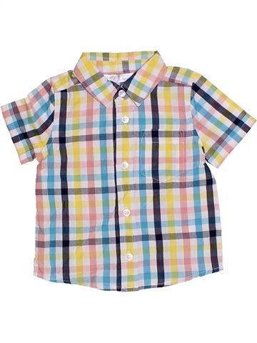 Camisa de manga corta niño M&CO rosa 12 meses verano #1310862_1