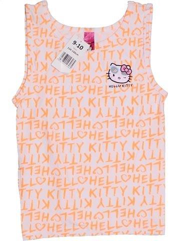 Camiseta sin mangas niña HELLO KITTY beige 10 años verano #1311033_1