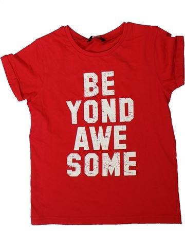 Camiseta de manga corta niño GEORGE rojo 8 años verano #1311186_1