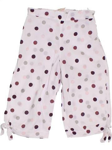 Pantalón corto niña 3 POMMES blanco 6 años verano #1311215_1