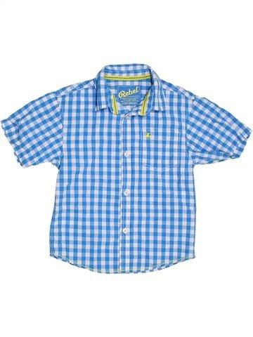 Camisa de manga corta niño PRIMARK azul 7 años verano #1311274_1