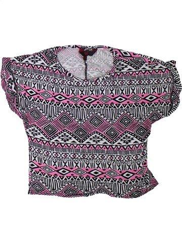 Camiseta de manga corta niña PRIMARK violeta 11 años verano #1311297_1