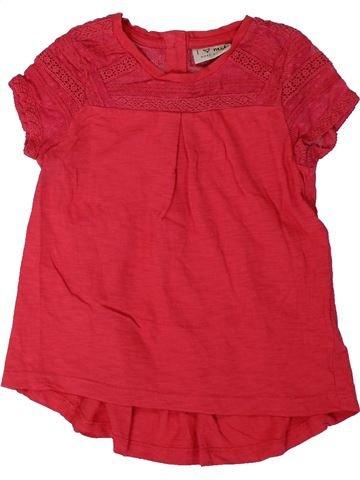 Camiseta de manga corta niña NEXT rojo 4 años verano #1311302_1