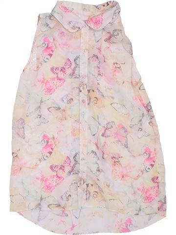 Blusa de manga corta niña F&F violeta 12 años verano #1311308_1