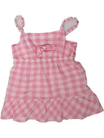 Blusa de manga corta niña GEORGE rosa 9 años verano #1311329_1