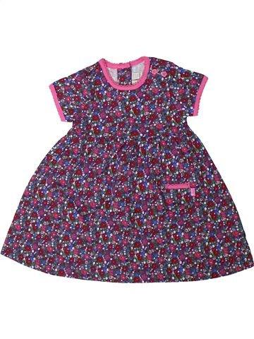 Vestido niña JOJO MAMAN BÉBÉ violeta 18 meses verano #1311353_1