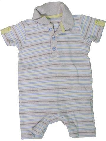 Combinación corta niño GEORGE gris 6 meses verano #1311359_1