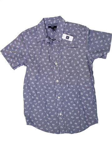 Camisa de manga corta niño GAP azul 11 años verano #1311366_1