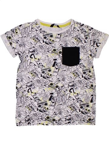 Camiseta de manga corta niño GEORGE blanco 7 años verano #1311417_1