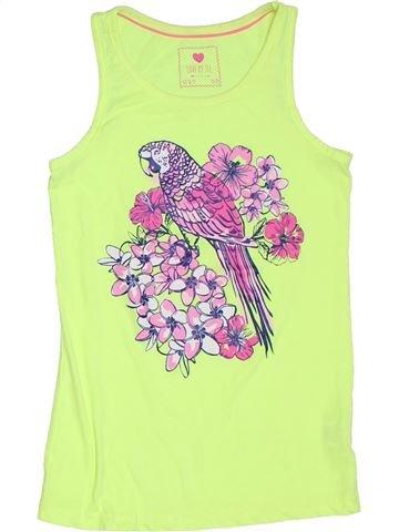 Camiseta sin mangas niña PRIMARK verde 11 años verano #1311441_1