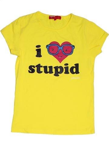 Camiseta de manga corta niña SOMEONE amarillo 14 años verano #1311449_1