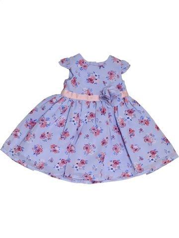 Vestido niña GEORGE gris 6 meses verano #1311461_1