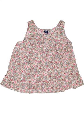 Blusa de manga corta niña GAP gris 12 años verano #1311480_1