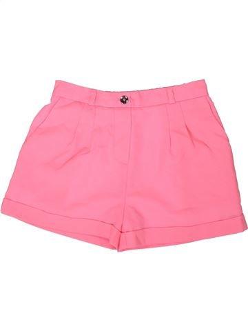 Short-Bermudas niña RIVER ISLAND rosa 9 años verano #1311642_1