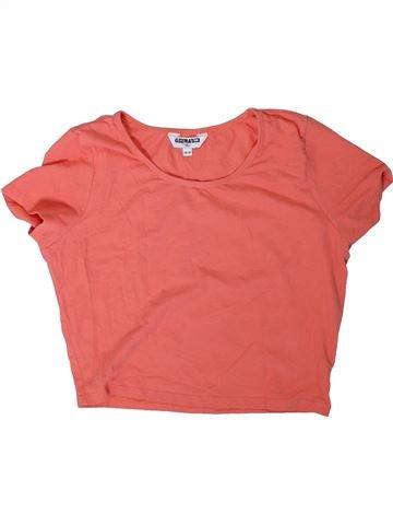 Camiseta de manga corta niña NEW LOOK rosa 14 años verano #1311701_1