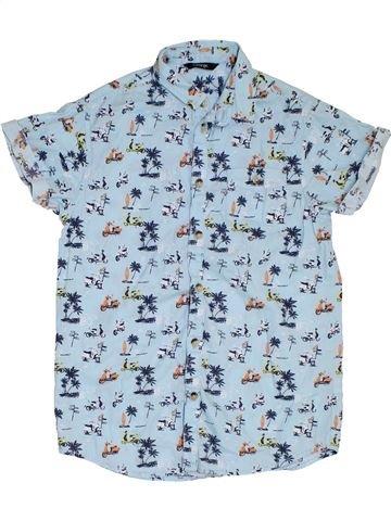 Camisa de manga corta niño GEORGE azul 10 años verano #1311748_1