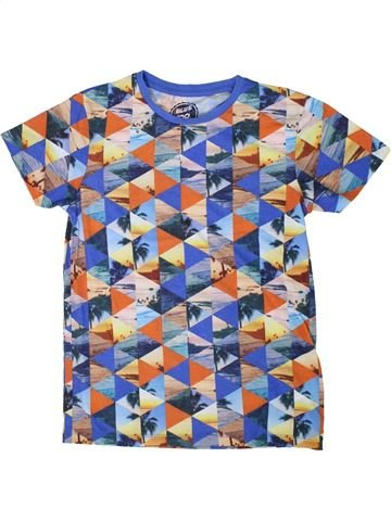 Camiseta de manga corta niño BLUEZOO gris 14 años verano #1311794_1