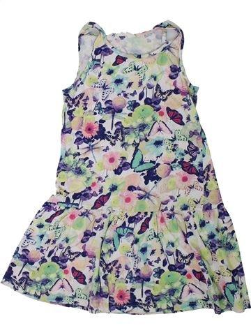 Vestido niña H&M gris 6 años verano #1311804_1